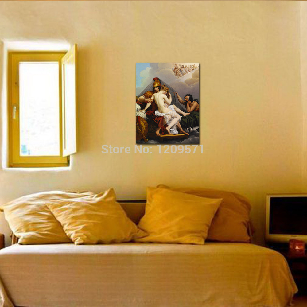 Luxury IartsFamous Print Painting ares and aphrodite caught by ...