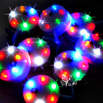 free shipping high quality 3p 6p colors light led lamp with switch 10pcs/lot led kite flying dragon vlieger toys for children цена 2017