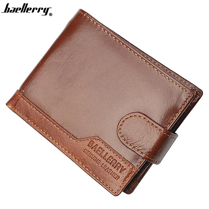 Genuine Leather Men Wallets Card Holder Top Quality Cow Leather Male Purse Baellerry Short Wallet Men Clutch Coin Pocket cartera фильтр maunfeld cf 120