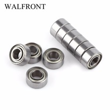 Newest 10pcs/Lot Bearings 685ZZ Miniature Ball Bearings Double Shielded Mini Steel Bearing 5x11x5mm 10pcs lot abec 7 608zz shafts stainless steel bearings roller scooter ball bearings skate skateboard wheels silver bearings