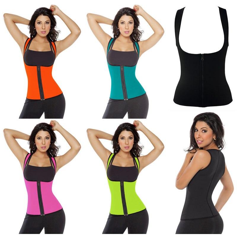 Ženy 5XL plus velikosti punčocháče venkovní fitness tělo shaper pasu trenér sportovní obě strany korzet holčičí tílko