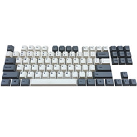 87 PBT Keycaps 87 Keyset Dye Sub Cherry MX Key Caps Top Print/Cherry Profile/ANSI Layout for TKL 87 MX Switches Mechanical Keyboard (3)