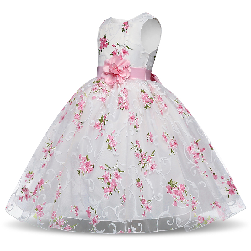 HTB1v9R7qf5TBuNjSspmq6yDRVXa5 Summer Tutu Dress For Girls Dresses Kids Clothes Wedding Events Flower Girl Dress Birthday Party Costumes Children Clothing 8T