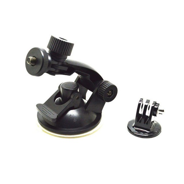 Accessories Car Suction Cup Mount Holder Tripod Mount Adapter For SJCAM SJ5000 M10 M20 XIAOMI YI