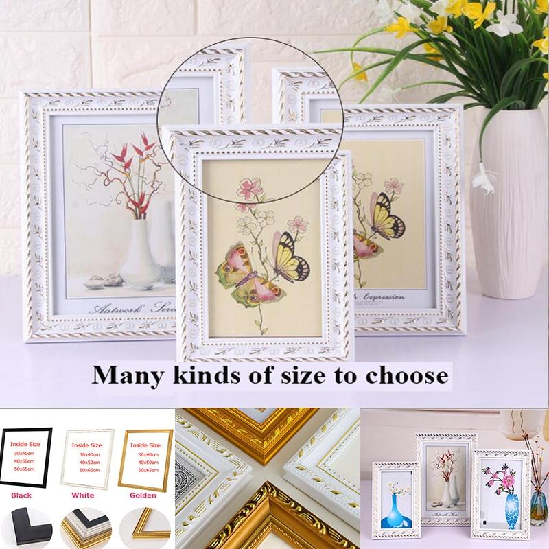 Много видов размеров для diy масляной живописи по номерам деревянная рамка настенная алмазная живопись Вышивка картина рамка фото рамка для ...