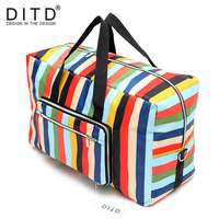 24 Colors High Quality Folding Travel Bag Large Capacity Waterproof Printing Bags Portable Women S Tote