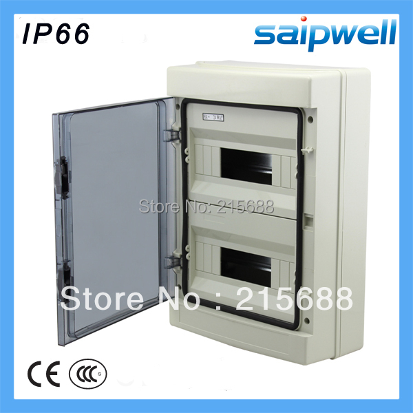 420*295*130mm 24 way ABS household waterproof Distribution Box Electric distribution box