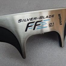PRGR серебряное лезвие FF01 головка клюшки для гольфа с ЧПУ фрезерованной алюминиевой лицевой стороной для левой руки
