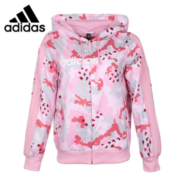 Original New Arrival 2019 Adidas NEO W WINDBREAKER Women's  jacket Hooded Sportswear
