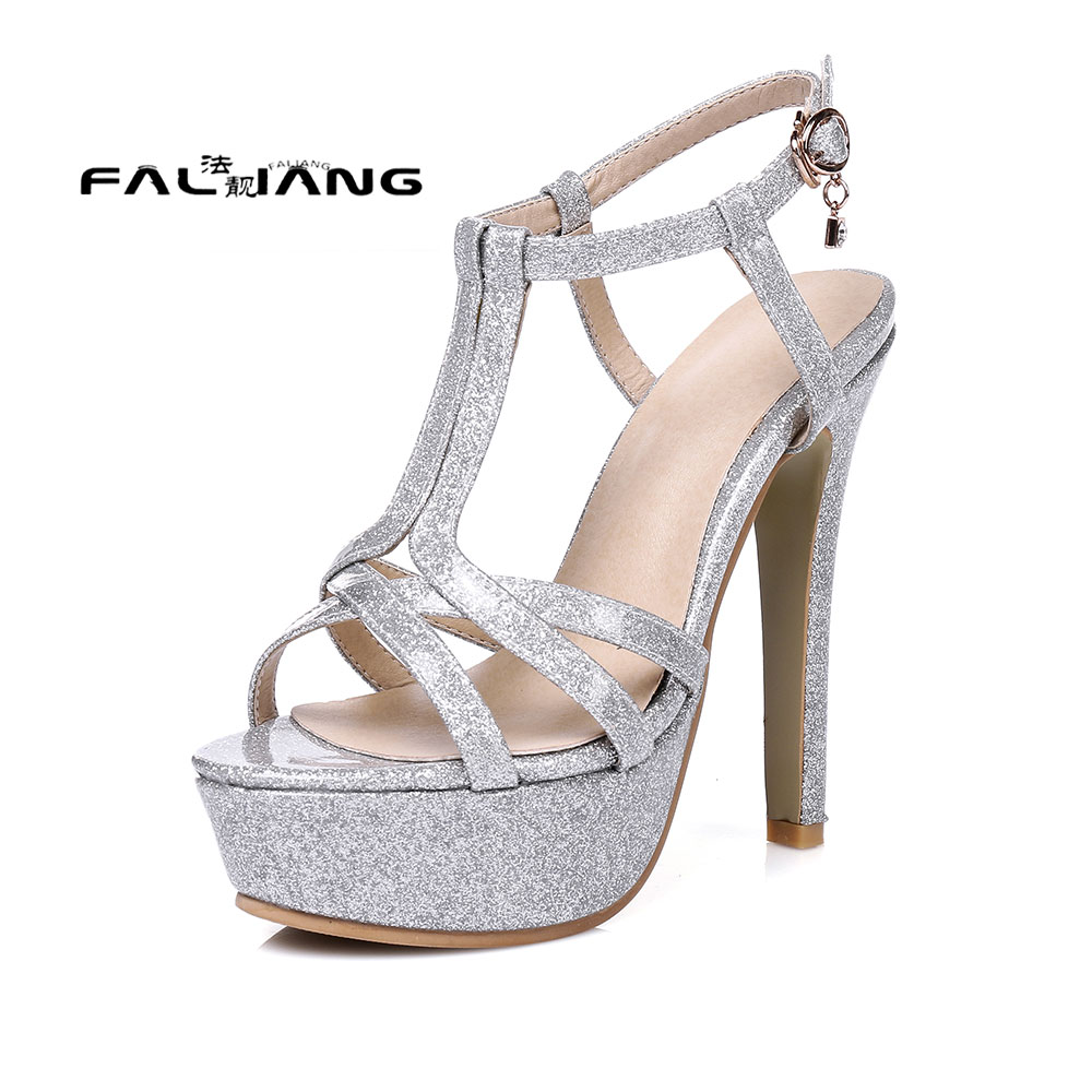 Womens sandals size 13 - Big Size 11 12 13 14 15 16 17 Pu Solid Sexy Back Strap Buckle Strap Women S Sandals Women S Shoes Woman For Women Platform Shoes
