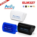 Hot Mini OBD II ELM327 Bluetooth OBD2 Car Diagnostic Interface code reader scanner Free shipping