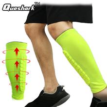 1Pcs Gym Sport Football Shin Guard Protector Soccer Honeycomb Anti-crash Leg Calf Sleeve Compression Cycling Running Leg Warmers cheap Lycra Polyster Universal B-FF160 QUESHARK