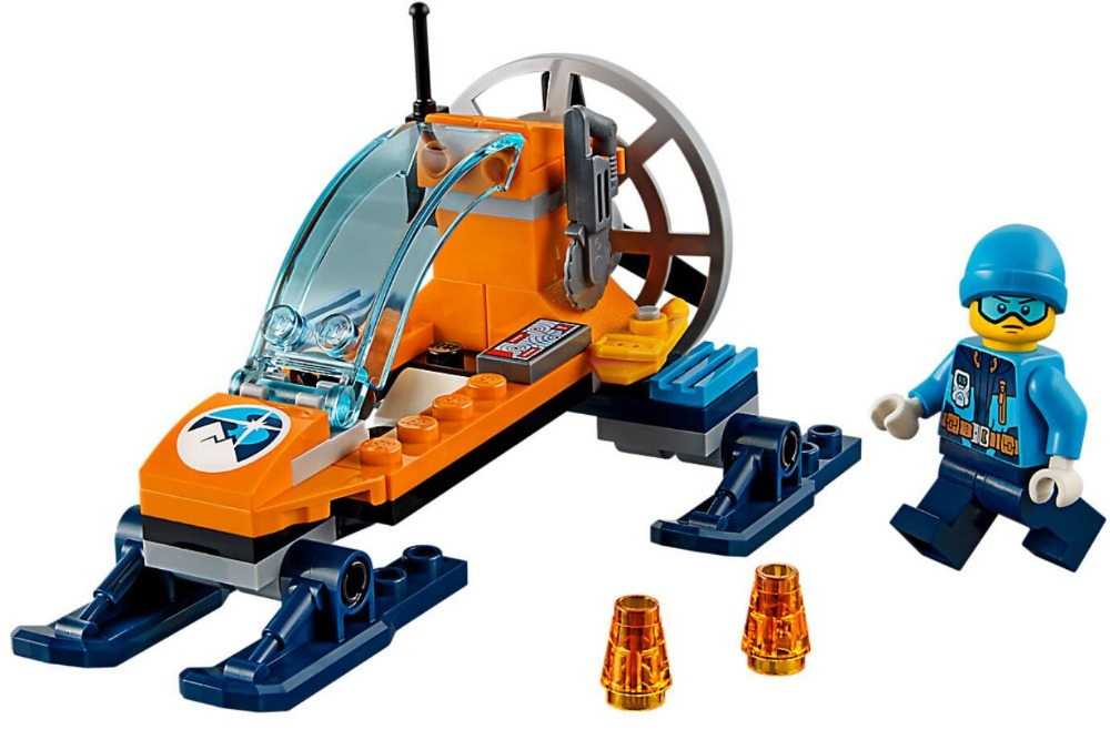 Bela 10991 City Urban Arctic Series Arctic Ice Glider Explore Building Block Bricks Toys Compatible With Legoings City 60190 цена