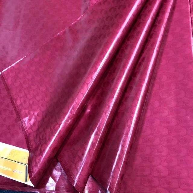 Cucire materiale bazin riche getzner 2018 nouveau jacquard tessuto di scintillio di atiku tessuto per gli uomini bacino riche getzner5yard/lot 5808 #