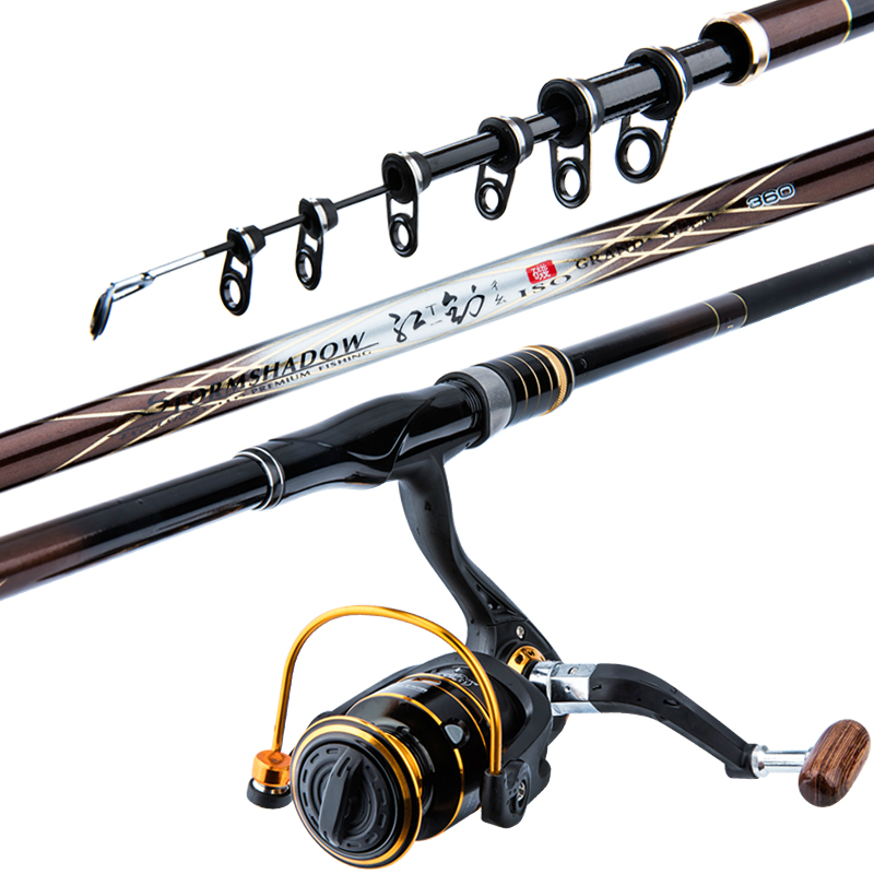 High Quality Rock Fishing Rod Hign Carbon Fishing Rod for Hand/sea Ultralight Superhard Long Section Fishing Rod Pesca Equipment rod combo high carbon ultralight fishing rod 1 95 2 7m sea boat fishing with fishing rod