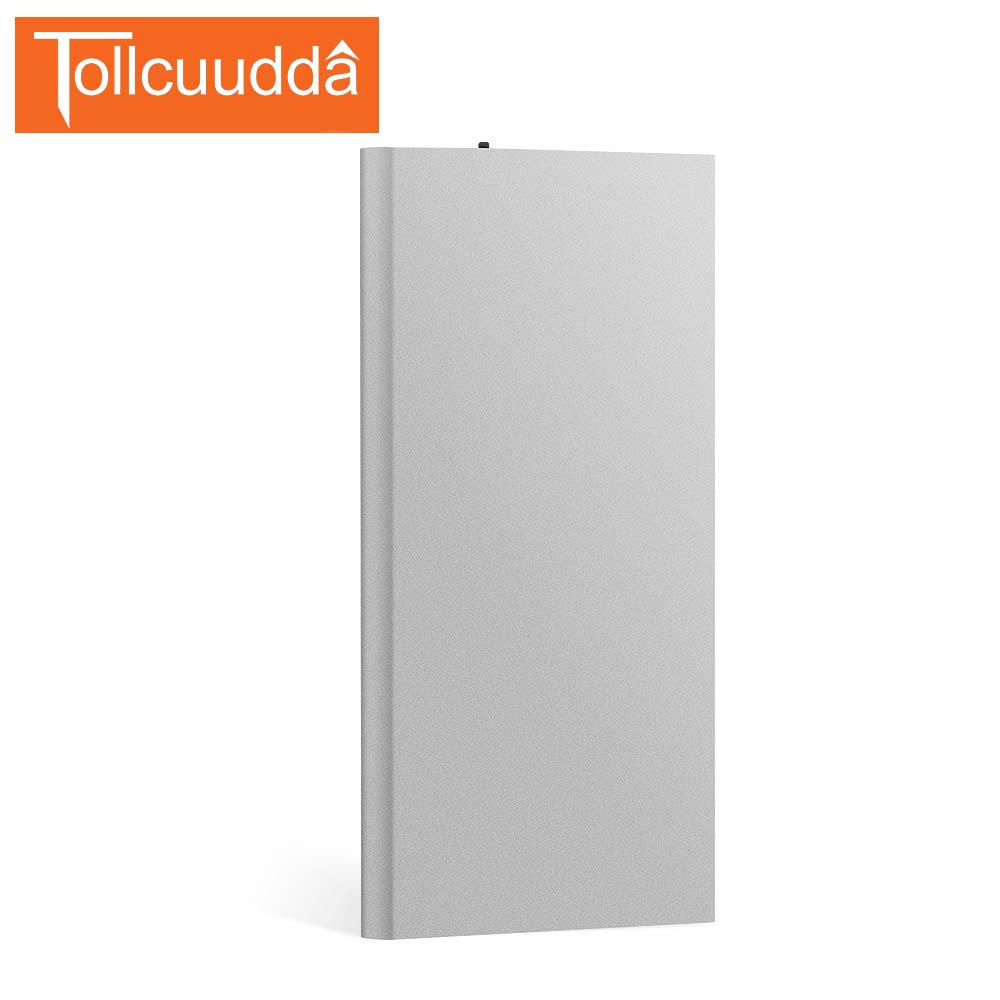 Tollcuuda 18650 Portable <font><b>Power</b></font> Bank For Iphone Battery Charger Poverbank Mi Mobile Phone Rechargeable Dual USB LED powerbank