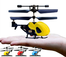 2.5ช่องBOHSมินิไมโครRCเฮลิคอปเตอร์ลำตัวแบบพกพาวิทยุควบคุมระยะไกลหมุนเครื่องบินเครื่องบินของเล่นรุ่น,ที่มีวงแหวน