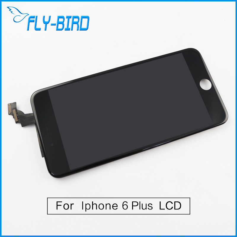10PCS/LOT A++ For iPhone 6 Plus LCD Display With Touch Screen Digitizer Assembly Replacement No Dead Pixel Free Shipping