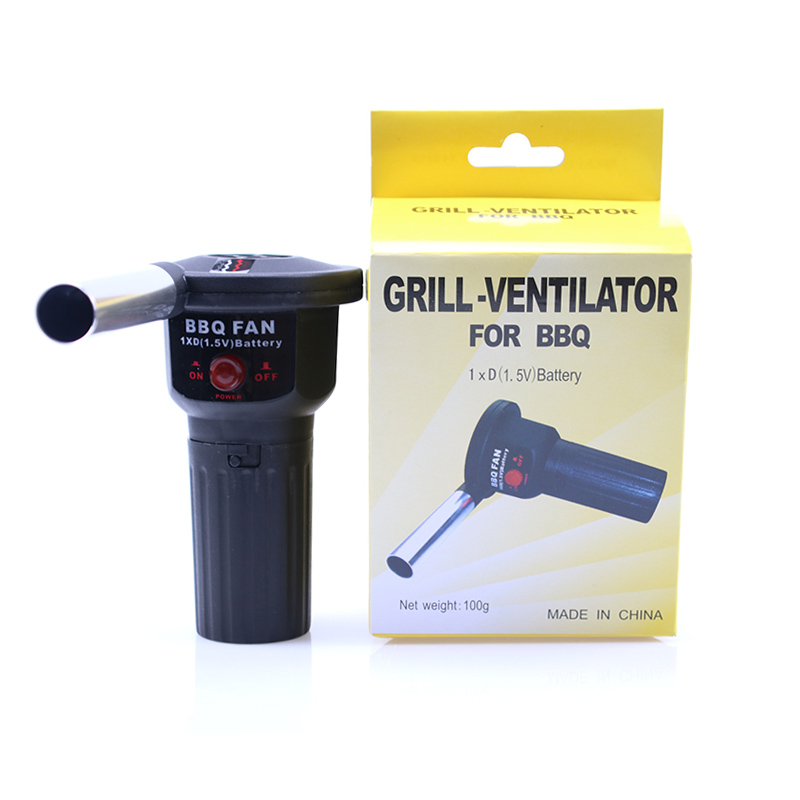 Portable Barbecue Electric Blower Camping Ignition Tool BBQ Fan Air Blower Cooking Lighters Serving Utensil Barbecue Tools