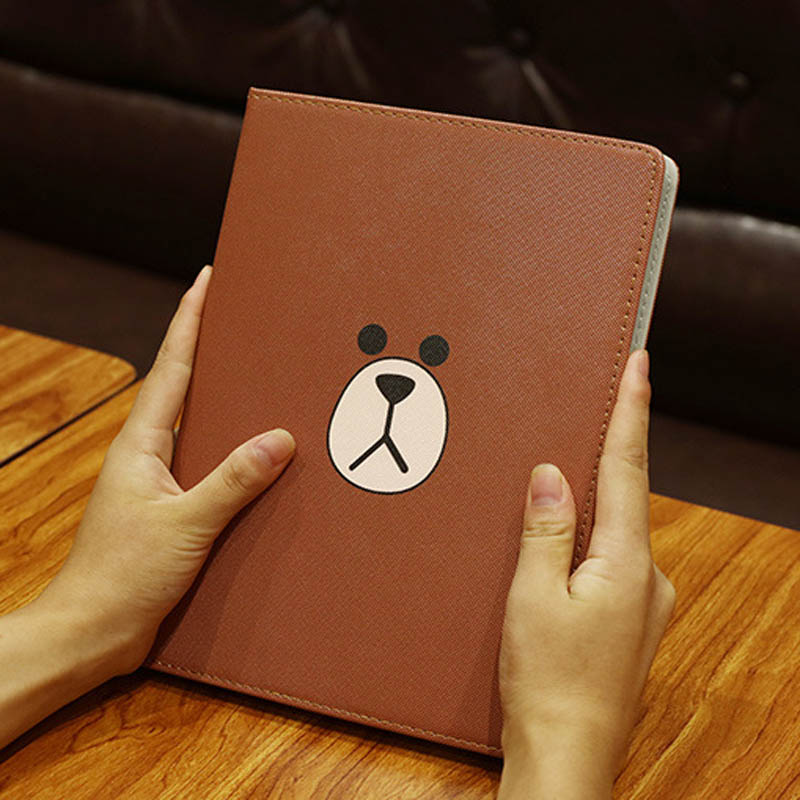Case For New Ipad Mini 5 2019 Illustration Cute Cartoon Case Scratch-Resistant Cover Hard Back Cover For Ipad MiNi 5 4 Case