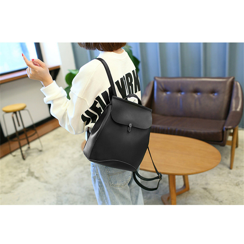 Fashion Backpack Quality Leather Backpacks For Teenage Girls Main Women  Backpack School Mochilas Escolar Shoulder Bags  Jy-f10 #6
