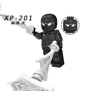 Image 4 - Spider Man loin de la maison Figure o mystériio Spider Man Noir Gwenom blocs de construction briques jouets compatibles avec Lego KT1027