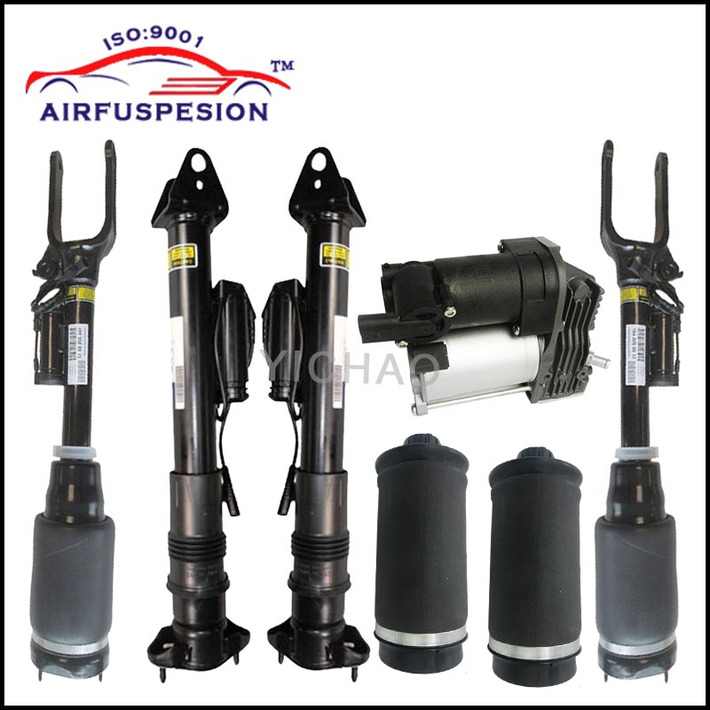 1 set Air Suspension Shock Absorber with ADS and air spring bags for Mercedes W164 X164