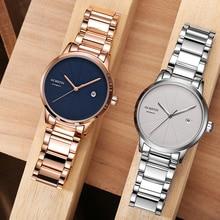 العلامة التجارية الأعلى OCHSTIN الرجال الفاخرة ساعة ميكانيكية الفضة كامل الصلب سوار horloges mannen فساتين التلقائي تاريخ ساعة يد رياضية