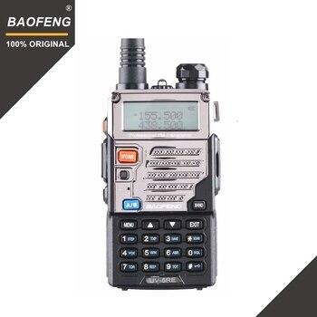 De BaoFeng UV-5RE Walkie Talkie 10 km VHF UHF136-174Mhz y 400-520 MHz de banda Dual Radio de dos vías UV-5R serie portátil transceptor de Radio