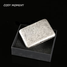 Cosy moment брендовый Античный Серебристый медный футляр для
