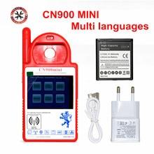 Mini CN900 inteligentny CN900 Mini Transponder Key Programmer Mini CN 900 wysokiej auto klucz programatore CN 900 z wielu języków