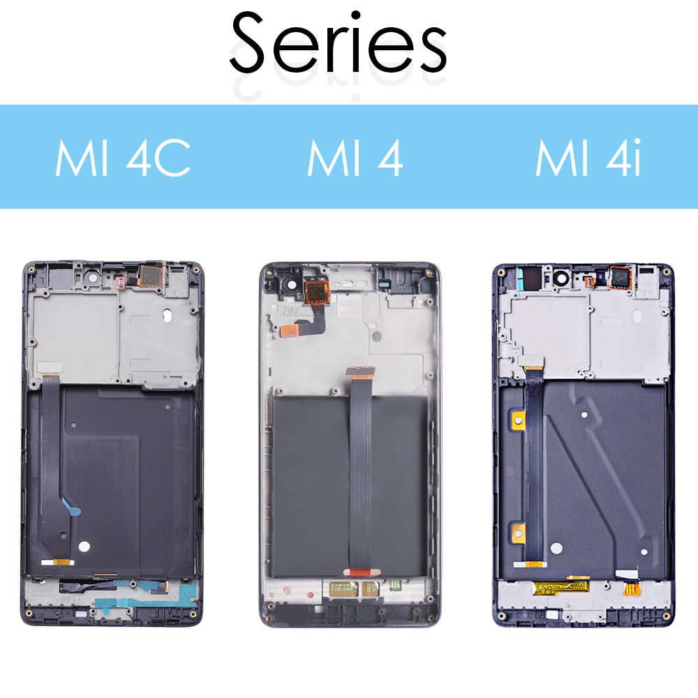 """5.0 """"用の元の表示シャオ mi mi 4C Lcd タッチスクリーンシャオ mi mi 4C 液晶ディスプレイ mi 4 4C 4i mi 4i 液晶交換"""