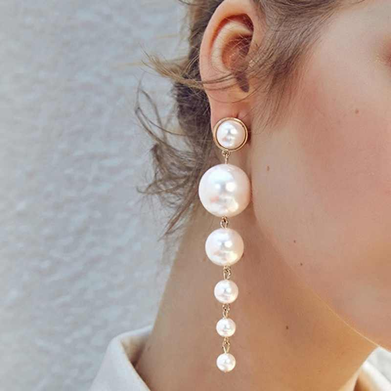 Elegant Earrings Romantic Artificial Pearl Earrings For Women Wedding Stylish Party Gift Accessories 2019 New