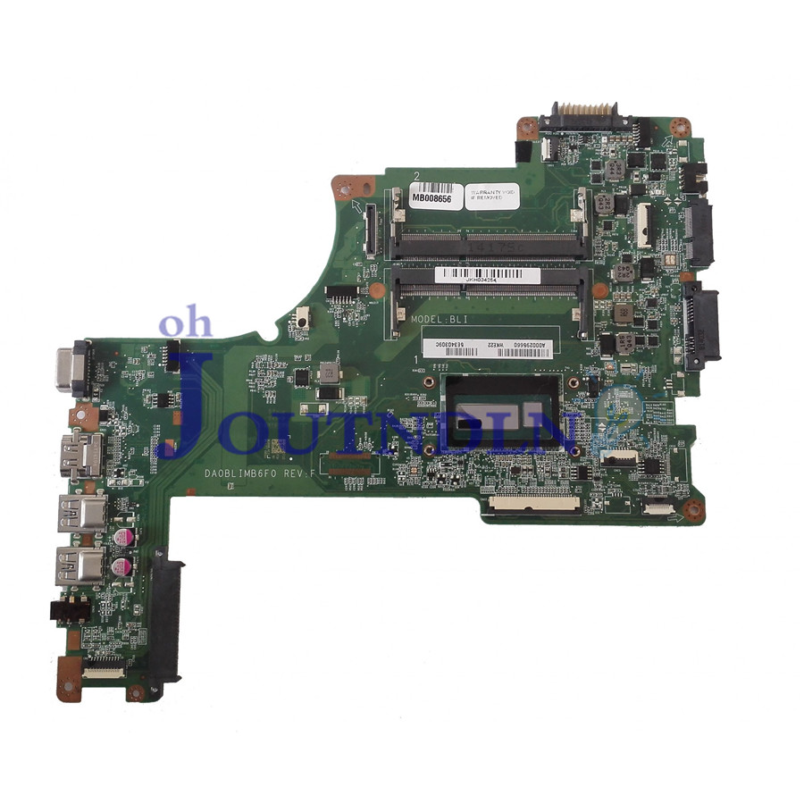 Laptop Motherboard Joutndln For Toshiba L50-b Laptop Motherboard A000295660 Da0blimb6f0 Integrated Graphics W/ I5-4200u Cpu Keep You Fit All The Time Laptop Accessories