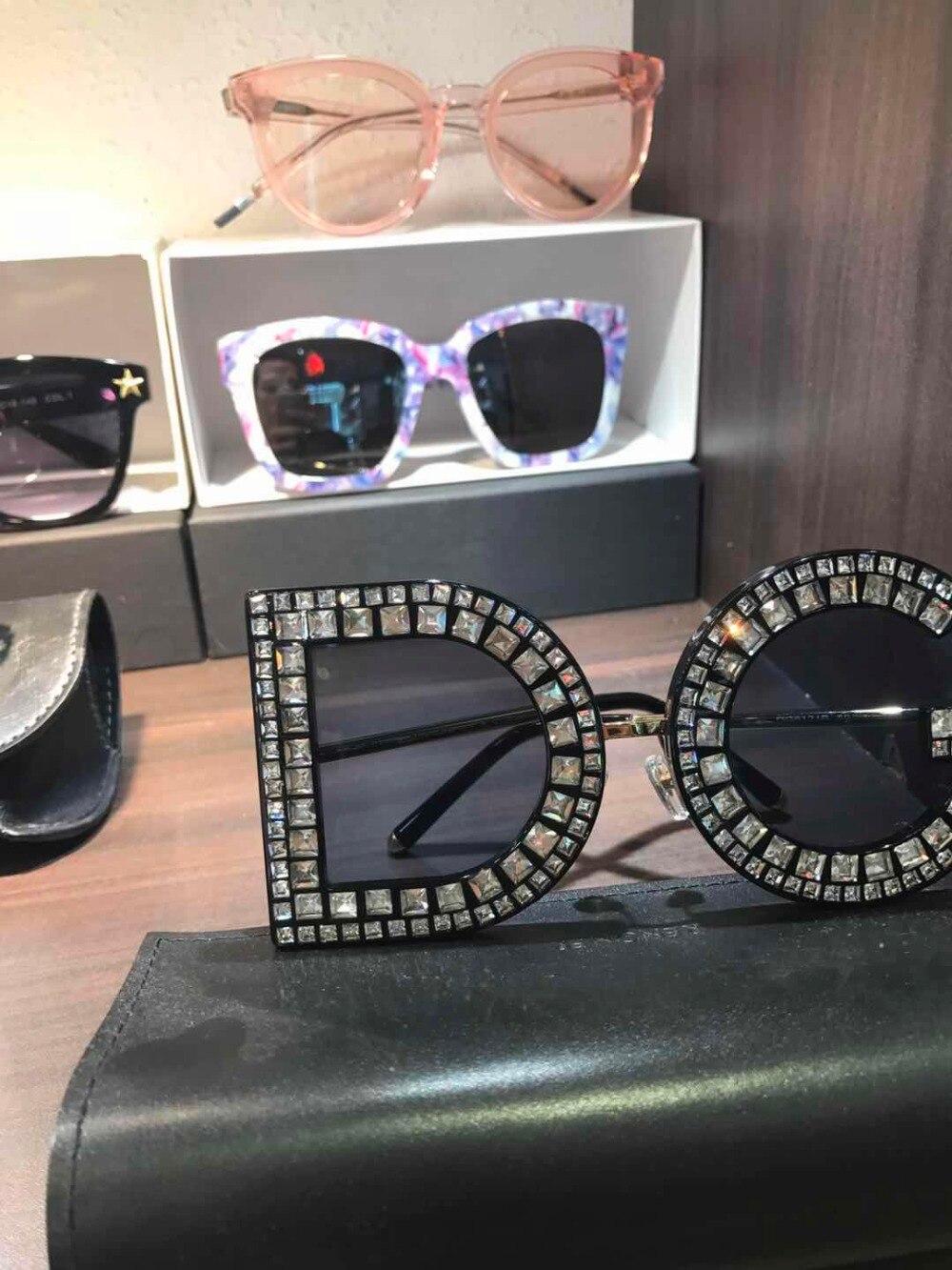 WD0640 2018 luxury Runway sunglasses women brand designer sun glasses for women Carter glasses