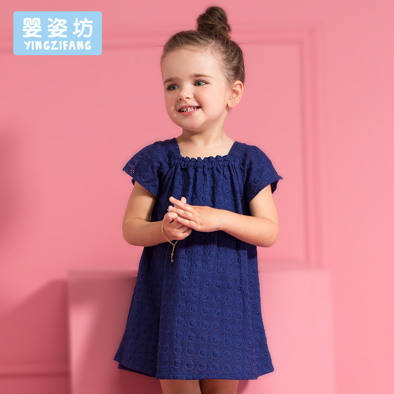 Toddler Direct Selling Hot Sale Solid Sleeveless infant Summer Casual Girl Dress Cute Baby Children Clothing