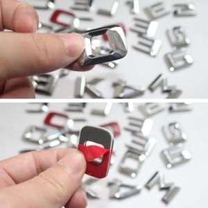 Image 5 - 3D Chrome W204 W205 Embleem C200 C250 C300 C350 C63 Cla Brief Auto Sticker Badge Logo Emblema Voor Mersedes mercedes Benz Amg