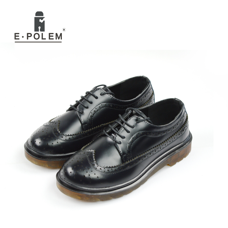 Genuine Leather Men Brogue Shoes Vintage Wedding Dress Shoes for Men Black Casual Fashion Oxford Dress Shoes Zapatos Hombre npezkgc new style cloth oxford shoes for men dress wedding shoes leather office men flat shoes height increasing zapatos hombre
