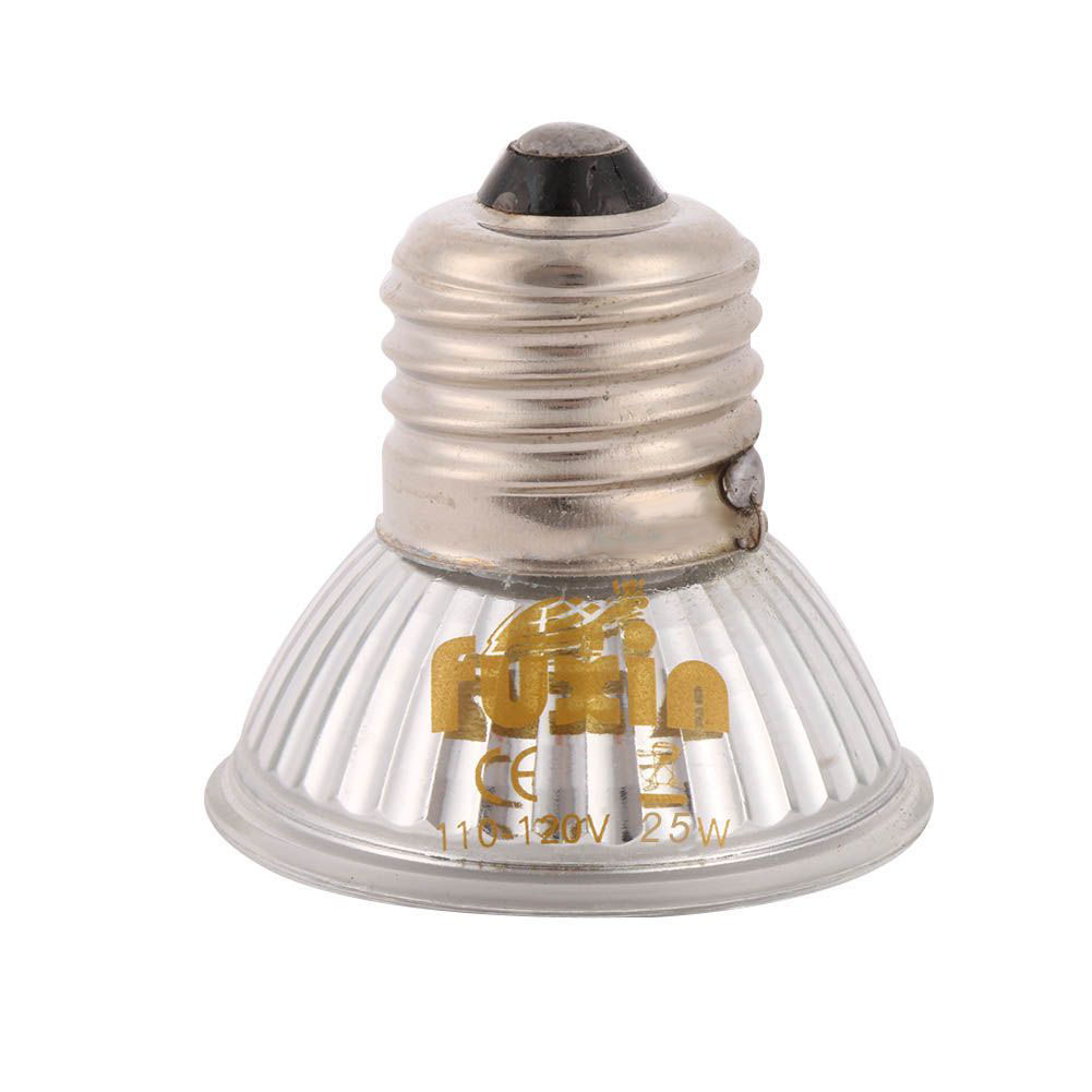 25/50/75/100W UVA+UVB 3.0 Reptile Lamp Bulb Turtle Basking UV Light Bulbs Heating Lamp Amphibians Lizards Temperature Controller