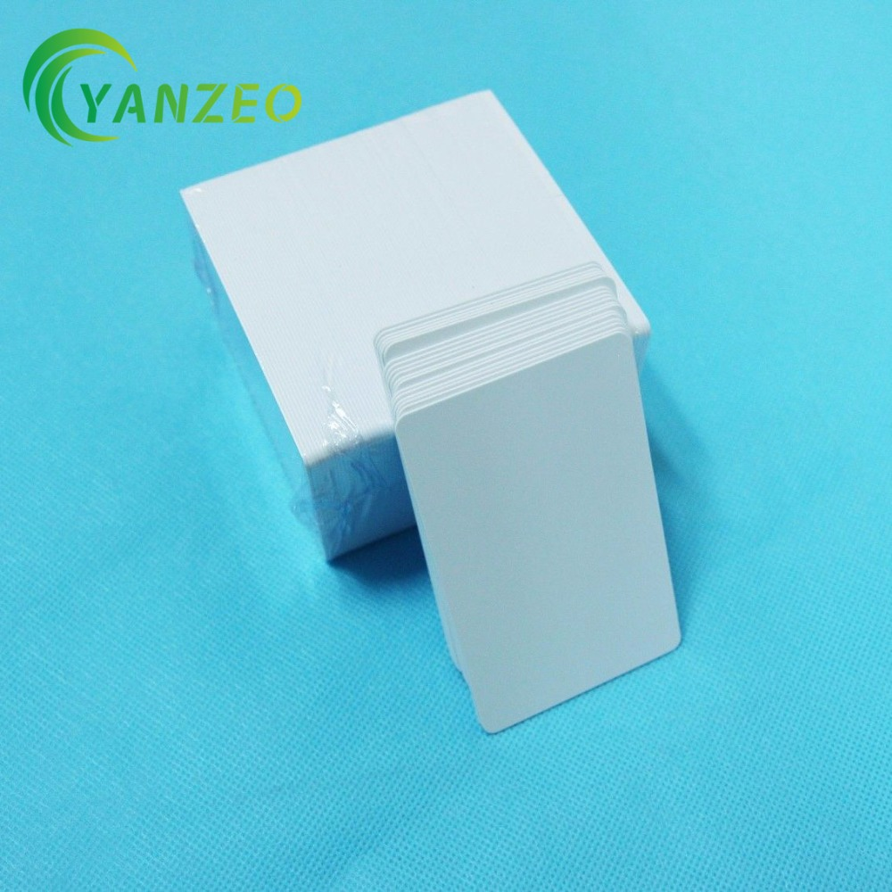 Glossy inkjet blank pvc card/inkjet printable pvc card for Epson T50 P50 A50 L800 R290 R230 R260 directly printing inkjet blank pvc card for epson printer r265 r310 r320 r350 r390 double side printable pvc id cards 230pcs box