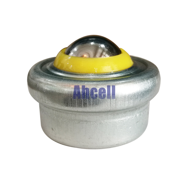 5pcs Spring Shock Load CY-25T Press fit punch mould ball caster zinc plated carbon steel Ball transfer unit die mold lift roller