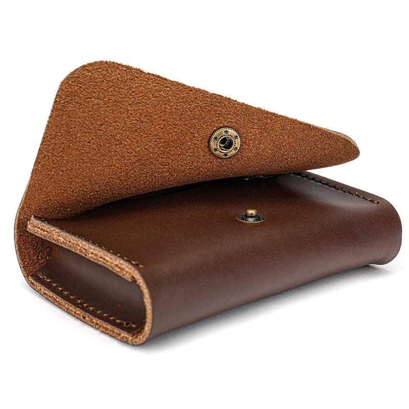 WESTAL designer pequenas Carteiras de couro Carteira Masculina Carteira de Couro Genuíno para sacos de Embreagem Titular do Cartão de Crédito Masculino Homens Bolsa de Moedas de 9011