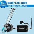 GSM 4G LTE 1800 mhz Celular Repeator DCS 1800 mhz Celular Repetidor Amplificador De Sinal Celular GSM + antena + Cabo Coaxial