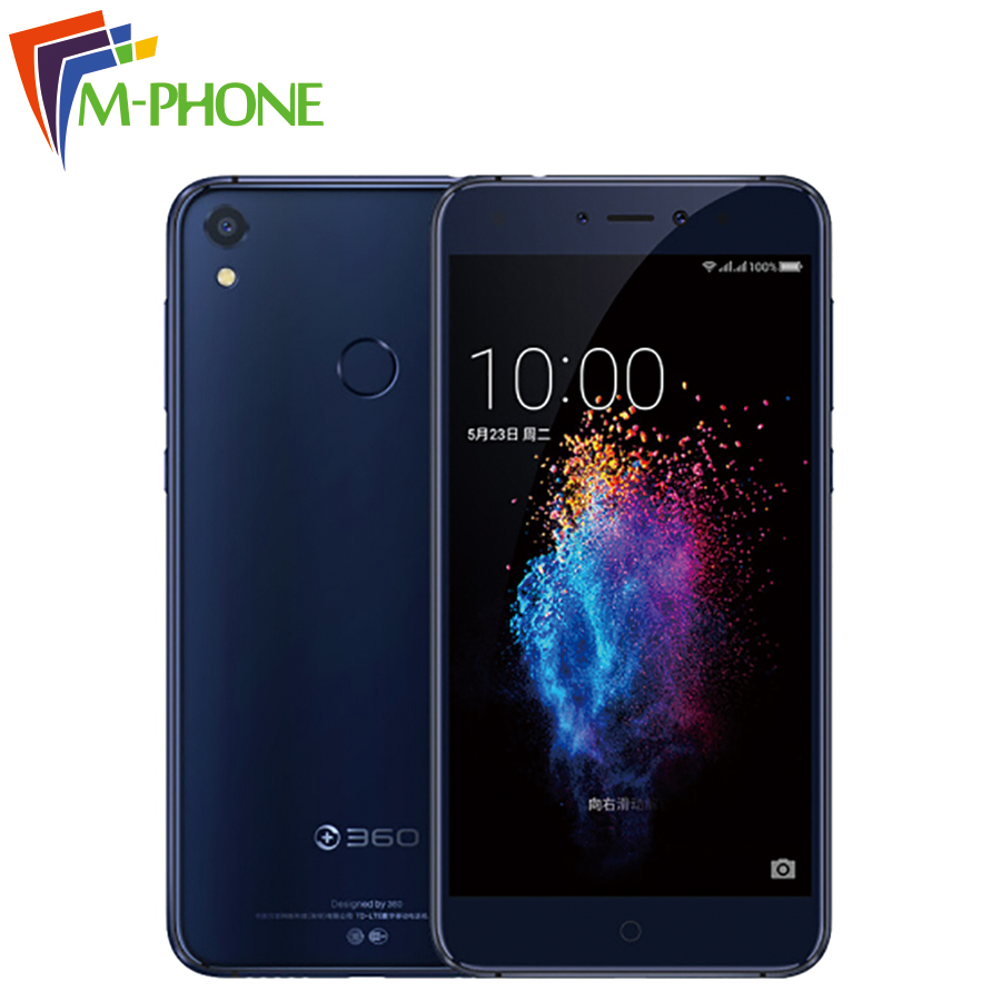 Original 360 N5s Mobile Phone 5 5 inch 6GB 64GB Snapdragon 653 Octa Core Dual Front