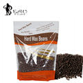 Beautome 310G/pack Chocolate Flavor Free Paper Solid Depilatory Wax Cream Hard Wax Beans Solid Wax Pearl for Body Hair Epilation