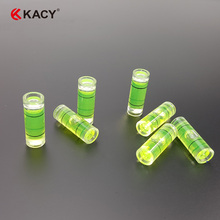 Free shipping 8x22mm Cylinder New High Transparent Bubble Spirit Level for professional measuring and normal usage 31115