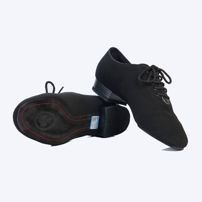 Hommes Standard Chaussures BD309 Salle De Bal Chaussures De Danse Toile Molletonnée Split Semelle Pratique Concurrence Hommes Moderne Danse Chaussures Danse Sportive - 6