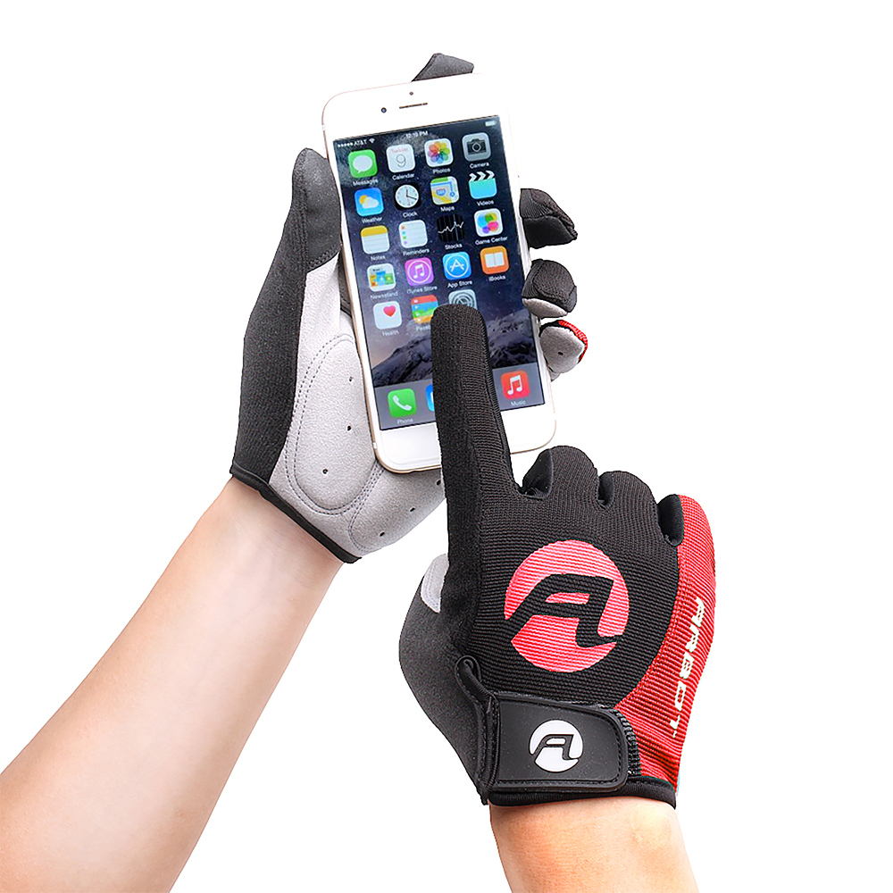 Objective Cycling Gloves Full Finger Gloves Touch Screen Riding Mtb Bicycle Gloves Anti Slip Gel Pad Motorcycle Mtb Road Bike Glove Bright In Colour