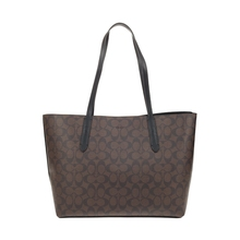 Authentic Original & Brand new Coach avenue tote handbag in signature canvas Women's Bag F67108 Womens' pouch