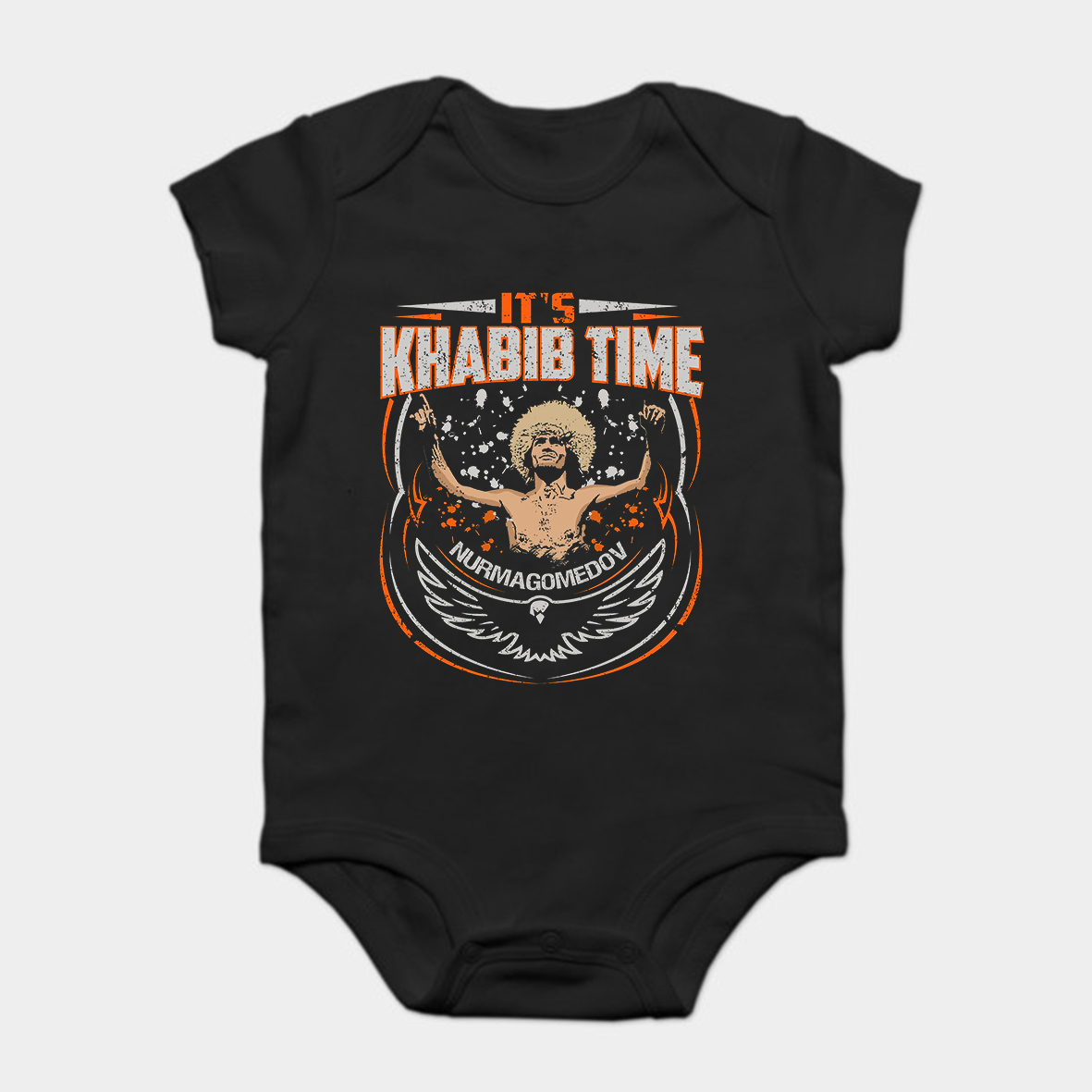 Enthusiastic Baby Onesie Baby Bodysuits Kid T Shirt Printed Cotton Khabib Nurmagomedov Short-sleeve